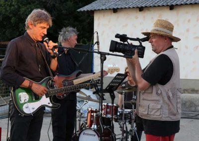 Jurki & Basisti na snemanju videa En lep dan na tvojo dlan - 155 (foto Zoran Pajić)