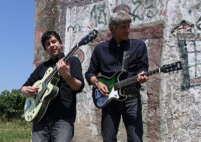 Jurki & Basisti na snemanju videa En lep dan na tvojo dlan - 51 (foto Zoran Pajić)