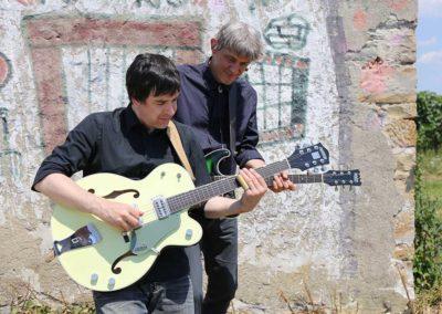 Jurki & Basisti na snemanju videa En lep dan na tvojo dlan - 58 (foto Zoran Pajić)