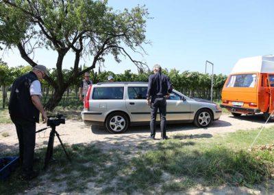 Jurki & Basisti na snemanju videa En lep dan na tvojo dlan - 8 (foto Zoran Pajić)